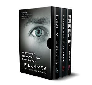 Fifty Shades of Grey as Told by Christian Boxset